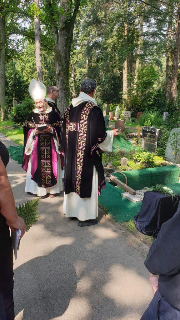 Schwester Humiliana - Begräbnis in Köln